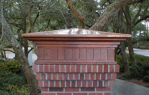 Custom Column Cap